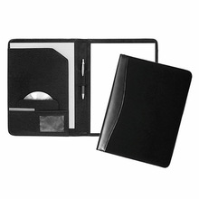 Hot sell leather A5 conference folder