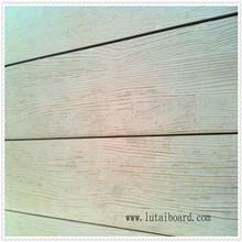 wood grain fiber cement exterior wall cladding outside decoration drywall waterwall heat insulation calcium silicate wood grain