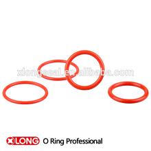 Fashion design light red plastic rubber oil seal