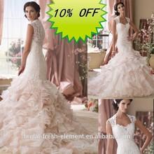 Hot Sale Long Good Quality Lace Sweetheart Elegant Arabic Wedding Dresses China