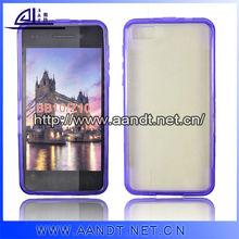 Slim pc case for blackberry z10 with tpu bumper