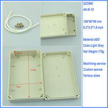 waterproof plastic abs electrical box enclosure