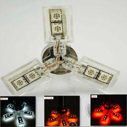 good 1156/1157/74435050 smd led lighting bulb 9smd led car brake light(fan shape)