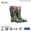 Camo Rubber Boots,Wellies Rain Boots,Western Rubber Rain Boots