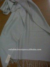 Long cashmere silk scarf