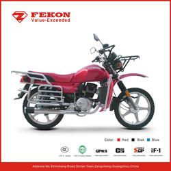 On rough off road 125cc 150cc motor bike