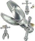 Adult Toys, Sex Toys The Steel Anal Lock, Stainless Steel Toys Tools
