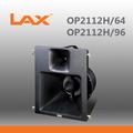"""Lassista op2112h/64 op2112h/96 audio professionale altoparlante/singolo 12""""2- strada lunga gittata altoparlante a tromba/altoparlante a tromba"""