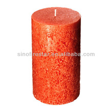 flat top pillar candles