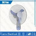 venda quente 16 polegadas 12v solar dc ventilador silencioso ventilador de parede