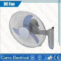 hot sale 16 inch 12v solar dc fan standard wall fan