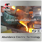 Small capacity scrap iron smelting industrial furnace EAF