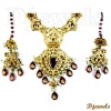 Ladies Kundan Polki Necklace Sets, 22K Gold Kundan Polki Necklace Sets, Polki Jewellery