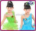 Fabricante Performance de palco infantis meninas vestidos de dança de salão roupas crianças trajes de balé