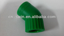 Factory directly PPR elbow 45 degree with low price