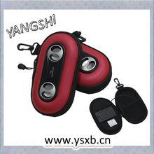 Speaker bag with Hi-Fi Sound ipod portable speaker