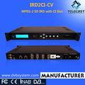De alta qualidade MPEG-2 SD receptor integrado decodificador