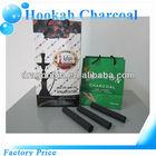 Great Natural finger stick cylinder coco coals for hookah