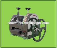 De aço inoxidável de cana moedor, Manual sugar cane juicer máquina