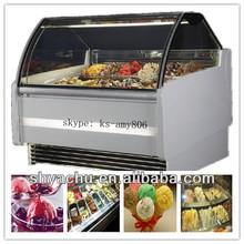 Ks-b3 série Best - vente utilisé verre vitrines / gelato crème glacée vitrine
