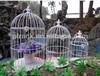 190X350mm white glass bird cages PF-E589