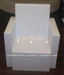 Lighted LED Acrylic Single Sofa/ Dinning Sofa / Acrylic single seater