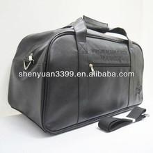 Hot selling travel duffel bag / new arrival leather men travel bag