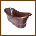 Hammered copper banheira banheira / banheira