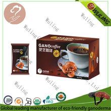 Juncao ganoderma black coffee