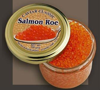 ovas de salmão