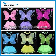 Butterfly Halloween Costume Girls Tutu Dress