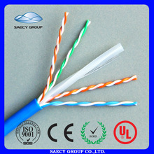 High Speed UTP Cat6 lan cable bare copper conductor