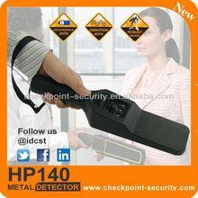 HP140 Hand Held Metal Detector supermarket security alarm system