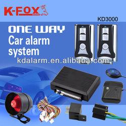 High quality car alarm system popular in Africa market KD3000-KD101