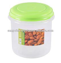 Plastic Round Container - SKM 33723 Green
