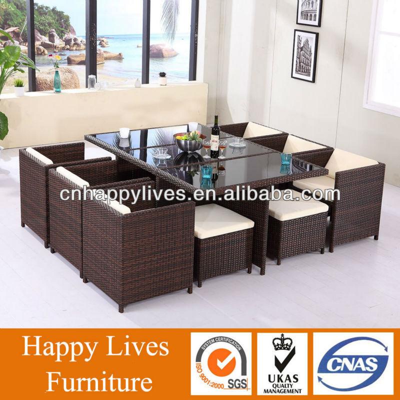 Garden Outdoor furniture, PE Rattan Outdoor Furniture