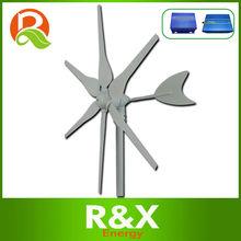 12V DC wind generator 300W +wind/solar hybrid controller+600w off grid pure sine wave inverter.