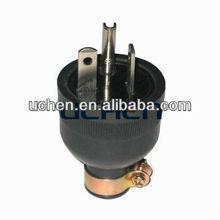 American Straight plug brass blade plug