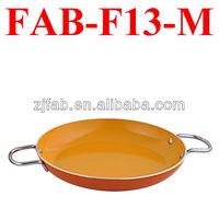 Deep Green Non-stick Aluminum Flat Frying Pan