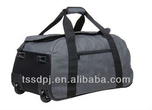 Polyester rolling travel duffle bag,valise,luggage,trolley duffle bags