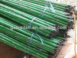 high quality pvc wooden broom handles /pvc wooden broom sticks