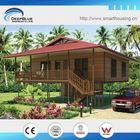 light steel sheet framing wooden house