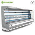 Refrigerador muestra abierto / Multi-estante enfriador muestra