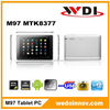 M97 3G Tablet with 9'' Dual Core Dual SIM 3G Phone Call 1GB/8GB Android 4.1 Bluetooth GPS FM Analog TV MTK8377 3G Tablet