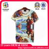 2014 Fashion 3d printing men's t shirt