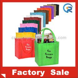 The lowest price reusable non woven shopping bag/eco bag