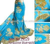 2015 velvet fabric african velvet lace fabric long sleeve velvet evening dresses