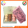 OEM Design Macarons Box Packing Wholesale Eco-friendly Material