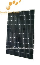 Best quality high efficient 12v solar panel 250w
