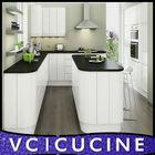 Wholesale U shape modular kitchen cabinets ( melamine,laminate )